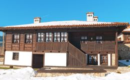 Old house. Photo of old house in Bulgaria Royalty Free Stock Image
