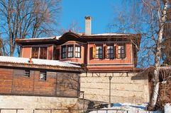 Old house. Photo of old house in Bulgaria Royalty Free Stock Photography
