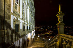 Old house. Overlooking the river Douro, Oporto, Portugal. zone of Cathedral Royalty Free Stock Photos