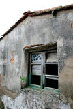 Old house. One shabby old house corner Royalty Free Stock Photography