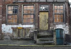 Old house. An old house in the Amsterdam area Royalty Free Stock Images