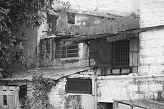 Old House. An old house in Hong Kong Royalty Free Stock Photos