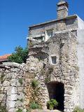 Old house. Old mediterranean house,picture taken on Cres island-Croatia stock images