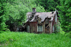 Old house. Old abandoned house in Sweden Royalty Free Stock Image