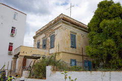 The old house at Aegina island Royalty Free Stock Photography