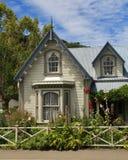 Old house in Akaroa Stock Photos