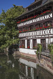 Old house in Alsace Stock Image