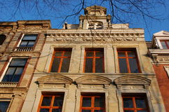 Old house in Amsterdam. Very old house in the city center of Amsterdam Royalty Free Stock Images
