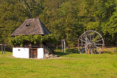 Free Old House And Watermill Royalty Free Stock Photo - 44526585