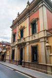 Old house architecture of old mediterranean towns Royalty Free Stock Photos