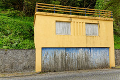 The old house on Azores Royalty Free Stock Image