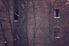 Old house. Background. Retro-toning photo royalty free stock image