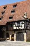 An old house in Bamberg, Germany. Royalty Free Stock Image