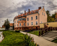 Old house in Barczewo, Poland Royalty Free Stock Photography