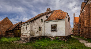 Old house in Barczewo, Poland Stock Photos