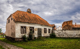Old house in Barczewo, Poland Stock Photography