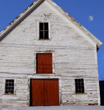 Old House / Barn Red White and Blue Royalty Free Stock Photos