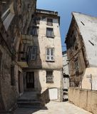 Old House - Bastia, Corsica Stock Image