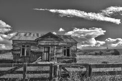 Old House - Black & White Stock Images