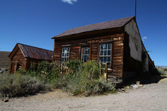 Old House in Bodie Royalty Free Stock Image