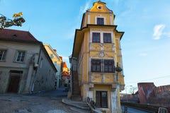 Old house in Bratislava Stock Photo