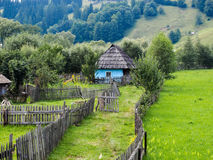Old house in Bucovina. On the scenic route from Moldovita to Argel Village Royalty Free Stock Image