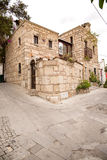 Old house built of stone. Holiday Bodrum, Turkey Royalty Free Stock Images