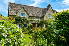 Old house in Burford, England Stock Image