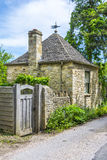 Old house in Burford, England Royalty Free Stock Photos