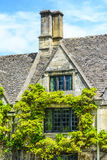 Old house in Burford, England Royalty Free Stock Photo