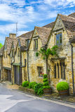 Old house in Burford, England Stock Photography