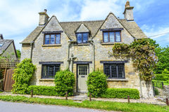 Old house in Burford, England Stock Photo