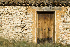 Old house,cabin stone hut Royalty Free Stock Photography