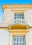 Old House. In the capital of Poros island in Greece Royalty Free Stock Image