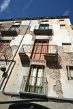 Old house in the center of Figueres Stock Images