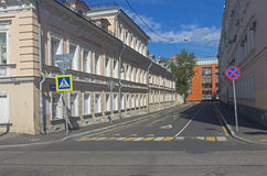 Old house in the center of Moscow. Stock Photo