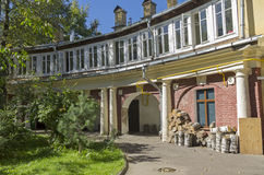Old house in the center of Moscow. Stock Image