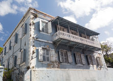 Old house in Charlotte Amalie St Thomas Royalty Free Stock Image