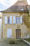Old house in Charolles, burgundy, france Royalty Free Stock Photos