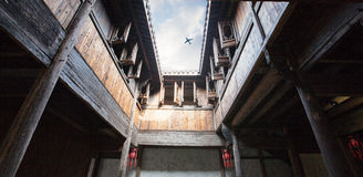 Old house of China Stock Photography
