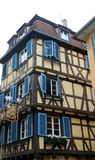 Old house in the city of colmar royalty free stock photos