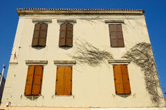 Old house in city of Rethymno, Crete Stock Image