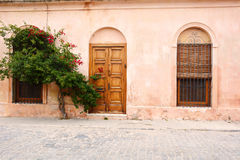 Old house in Colonia del Sacramento, Uruguay. Stock Images