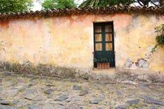 Old house in Colonia del Sacramento, Uruguay. Royalty Free Stock Photos