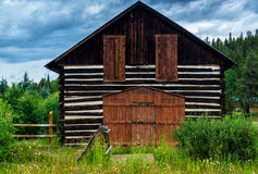 Old House In A Colorado Ghost Town Royalty Free Stock Images