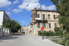 Old house in Constanta Romania 3. House in the old center Constanta city. Black Sea coast of Romania Stock Photos