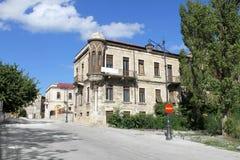 Old house in Constanta Romania 2. House in the old center Constanta city. Black Sea coast of Romania Stock Photo