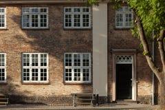 Old house in Copenhagen exterior. Exterior old house in Copenhagen Stock Photo