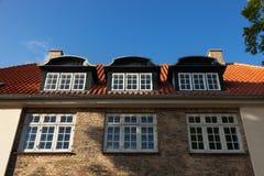 Old house in Copenhagen exterior. Exterior old house in Copenhagen Royalty Free Stock Photos