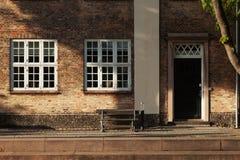 Old house in Copenhagen exterior. Exterior of old house in Copenhagen Royalty Free Stock Photo